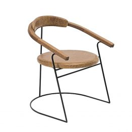 TRIFOLD DESIGN SWAN DINING CHAIR
