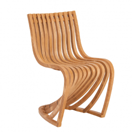 TRIFOLD DESIGN WAVE DINING CHAIR