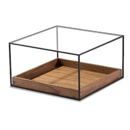 TRIFOLD DESIGN BOX COFFEE TABLE BOTTOM WOOD TRAY