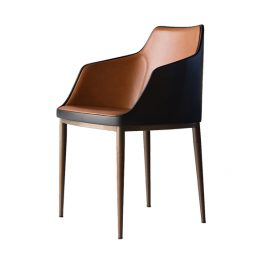 TRIFOLD DESIGN CHESS DINING CHAIR