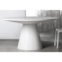 TRIFOLD DESIGN DAMASK DINING TABLE