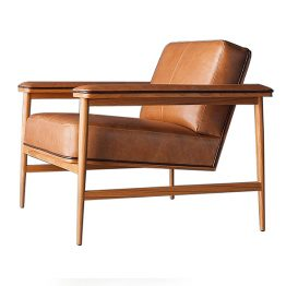 TRIFOLD DESIGN MADRID LOUNGE CHAIR