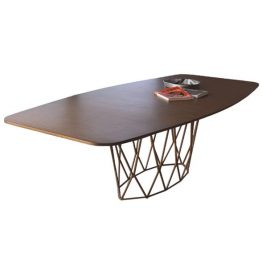 TRIFOLD DESIGN WEB DINING TABLE