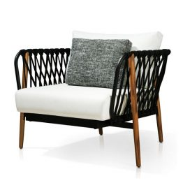 TRIFOLD DESIGN SAMOA OUTDOOR LOUNGE CHAIR