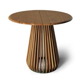 TRIFOLD DESIGN CICLOS SIDE TABLE
