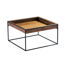 TRIFOLD DESIGN BOX COFFEE TABLE TOP WOOD
